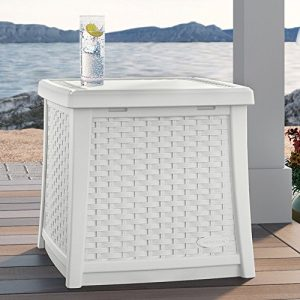 Suncast ELEMENTS End Table With Storage 0 0 300x300