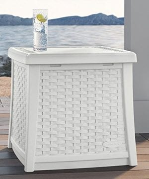 Suncast ELEMENTS End Table With Storage 0 0 300x360