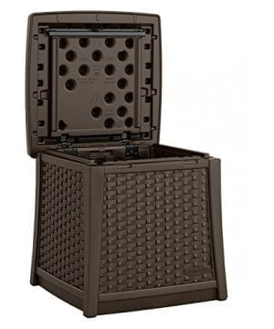 Suncast ELEMENTS End Table With Storage 0 1 300x360