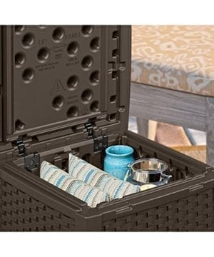 Suncast ELEMENTS End Table With Storage 0 2 300x360