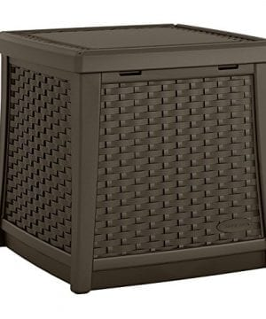 Suncast ELEMENTS End Table With Storage 0 300x360