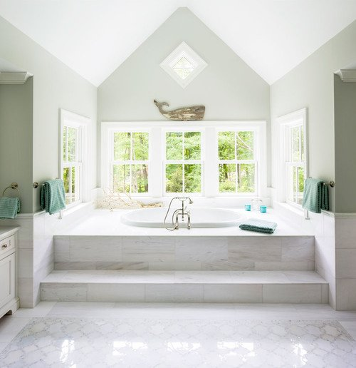 1-beach-and-coastal-bathroom-inspiration 100+ Beach Bathroom Decorations