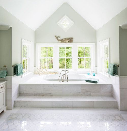 1-beach-and-coastal-bathroom-inspiration 100+ Best Beach Bathroom Decorations 2020