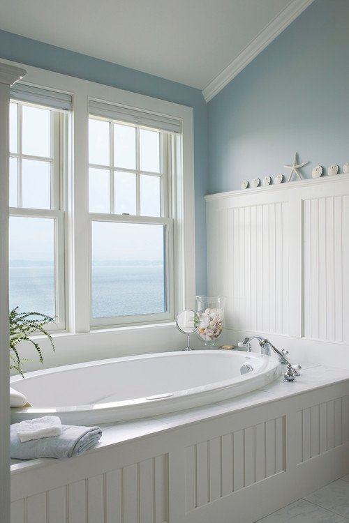 3-oceanfront-bath-in-bathroom 100+ Beach Bathroom Decorations