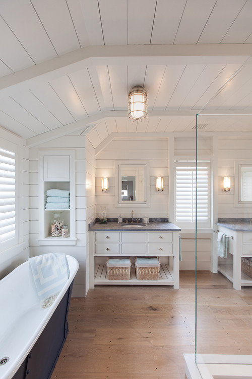 4-luxury-coastal-bathroom 100+ Beach Bathroom Decorations