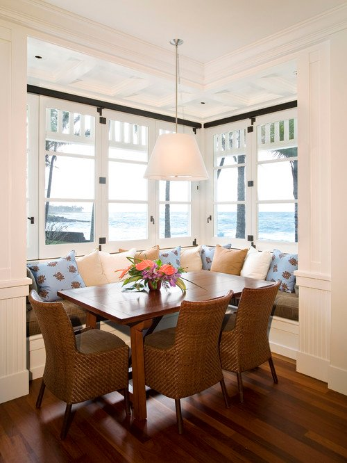 beach-style-dining-room-cottage-3 100+ Beach Cottage Decor Ideas