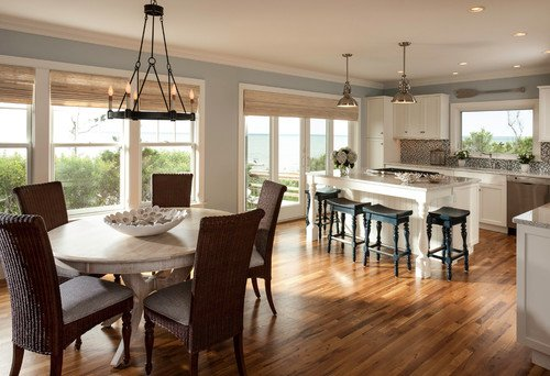 beach-style-kitchen-cottage-4 100+ Beach Cottage Decor Ideas
