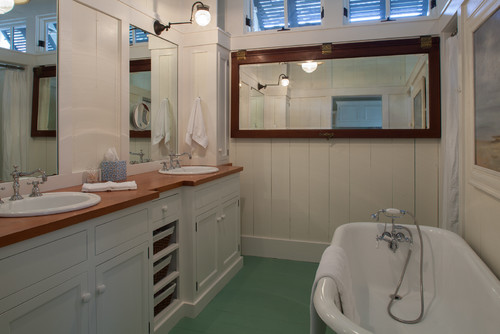 9-boathouse-cottage 50+ Beach Cottage Bathroom Ideas