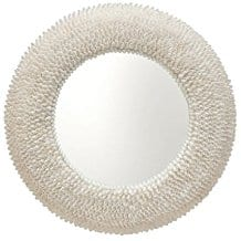 KOUBOO-Round-Bubble-Seashell-Wall-Mirror 100+ Coastal Mirrors and Beach Mirrors