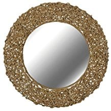 Kenroy-Home-60203-Seagrass-Wall-Mirror 100+ Coastal Mirrors and Beach Mirrors