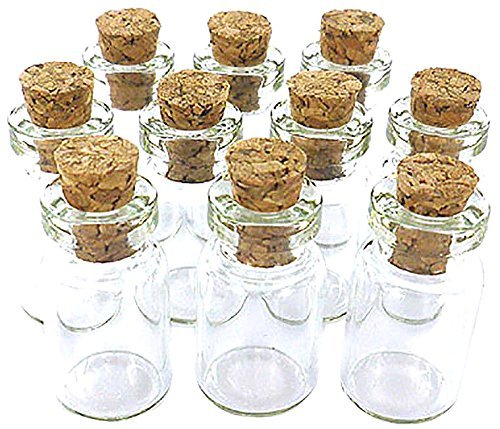 Miniature-Glass-Bottle-with-Cork-1 50+ Best Glass Bottles With Cork Toppers