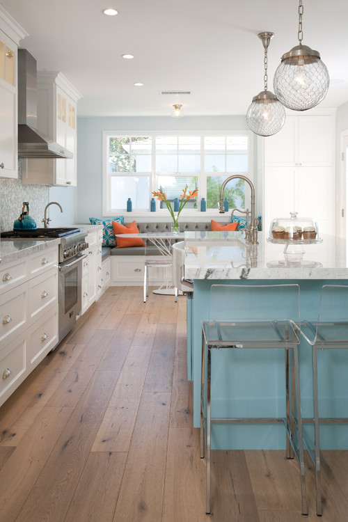 beach-and-sea-themed-coastal-kitchen-3 Beach Kitchen Decor and Coastal Kitchen Decor