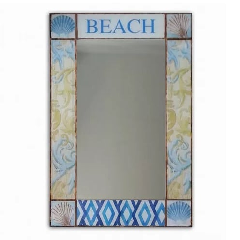 Hillcrest Coastal Beach Mirror Mirrors And Themed