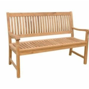 Anderson Teak Patio Lawn Garden Furniture Del Amo 3 Seater Bench 0 300x300