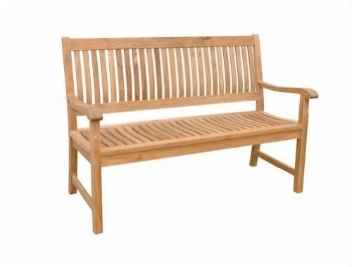 Anderson Teak Patio Lawn Garden Furniture Del Amo 3 Seater Bench 0