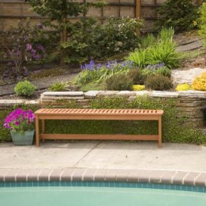 Arboria 8801079 Serenity Backless Bench 0 0 300x300