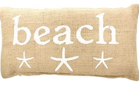 BEACH-French-Country-Burlap-Accent-Pillow-White-Print-with-Starfish-6-in-x-12-in-0-450x276 Nautical Pillows and Nautical Throw Pillows