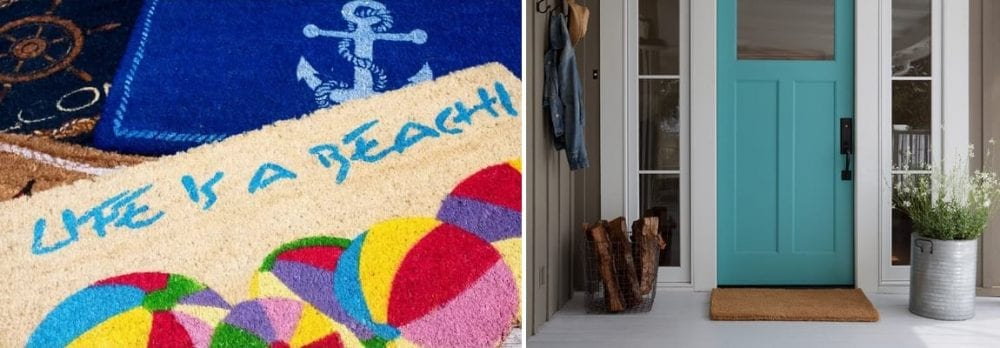Beach Doormats and Coastal Doormats