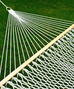Best-Choice-Products-Hammock-59-Cotton-Double-Wide-Solid-Wood-Spreader-Outdoor-Patio-Yard-Hammock-0-300x360 100+ Best Rope Hammocks