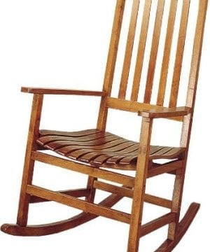 Coaster-Southern-Country-Plantation-Porch-RockerRocking-Chair-Oak-Wood-Finish-0-300x360 Best Teak Patio Furniture Sets
