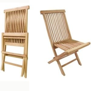 D-ART-COLLECTION-Teak-Crestwood-Folding-Chair-Set-of-2-0-300x300 Teak Dining Chairs & Outdoor Teak Chairs