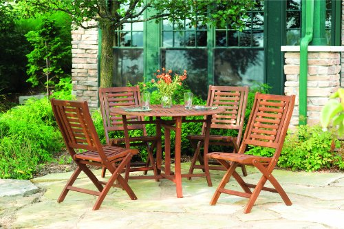 Folding Eucalyptus Side Chair Fully Assembled 2 Pack 0 0