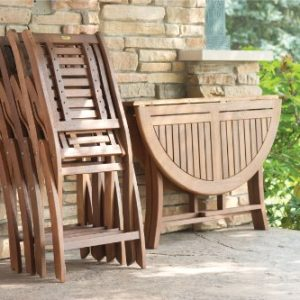 Folding Eucalyptus Side Chair Fully Assembled 2 Pack 0 2 300x300