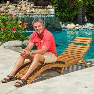 Lahaina-Wood-Outdoor-Foldable-Chaise-Lounge-in-Natural-Yellow-By-Christopher-Knight-Home-0-300x300 51 Teak Outdoor Furniture Ideas For 2020