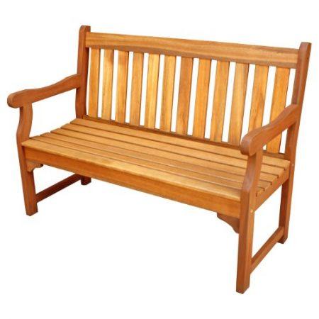 LuuNguyen-Adam-Outdoor-Four-Foot-Hardwood-Bench-Natural-Wood-Finish-0-450x450 100+ Outdoor Teak Benches
