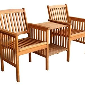 LuuNguyen-Outdoor-Hardwood-Tete-a-Tete-Bench-Natural-Wood-Finish-0-300x300 100+ Outdoor Teak Benches