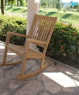 New-Grade-A-Teak-Wood-Kingston-Rocker-Rocking-Arm-Chair-Rocker-Cushion-Sold-Separately-Choose-Below-0-300x360 Ultimate Guide to Outdoor Teak Furniture