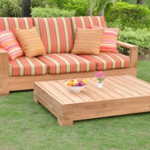 New-Luxurious-2-Piece-Teak-Sofa-Set-1-Sofa-Bench-3-Seater-with-Rectangle-Coffee-Table-Furniture-Set-Cushions-Set-Sold-Separately-Choose-correct-option-Leveb-Collection-WFSSLV1PR-0-300x300 Teak Patio Furniture