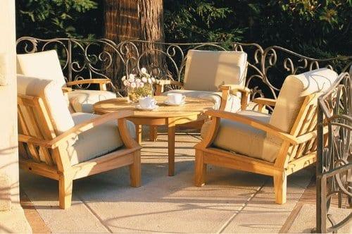 Somer Collection 5 Pc Teak Sofa Set Beachfront Decor