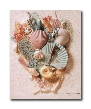 Ocean Starfish Sea Shell Beach Bathroom 2 Wall Picture 8x10 Art Print 0 300x360
