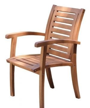 Outdoor-Interiors-21090-Luxe-Eucalyptus-Arm-Chair-0-300x360 Ultimate Guide to Outdoor Teak Furniture