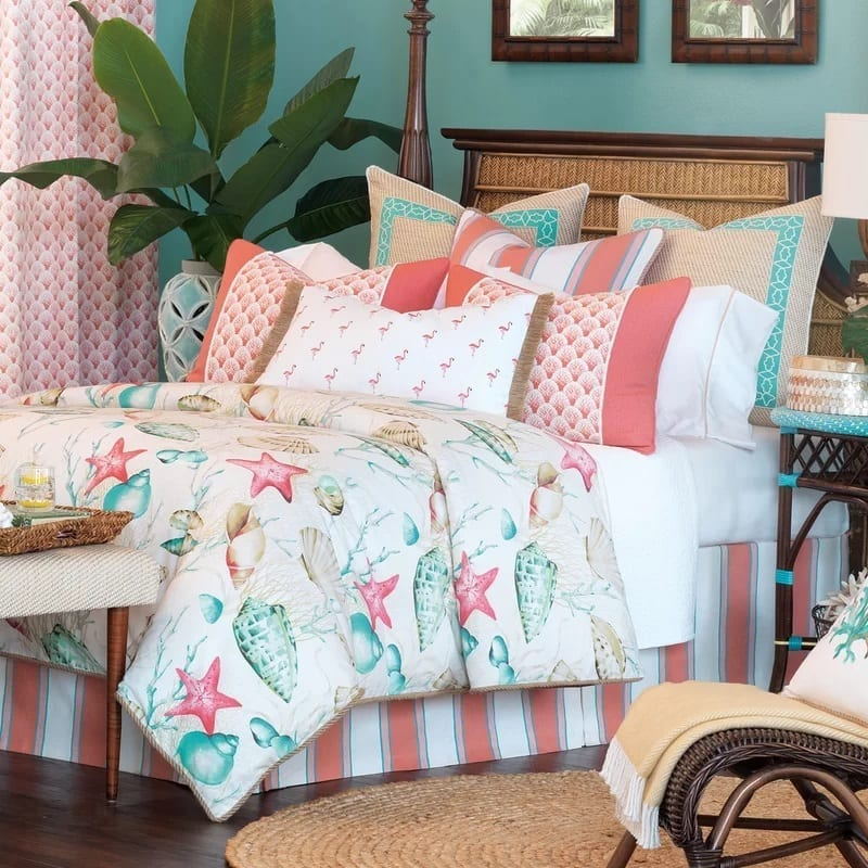 Sumba-Duvet-Cover-Collection-by-Eastern-Accents Coastal Bedding Sets and Beach Bedding Sets