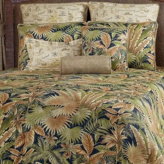 bahamian-4-piece-comforter-set-by-victor-mill Coastal Bedding Sets and Beach Bedding Sets