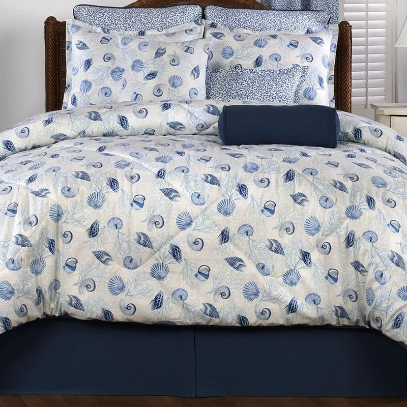 barbados-4-piece-comforter-set-by-victor-mill Coastal Bedding Sets and Beach Bedding Sets