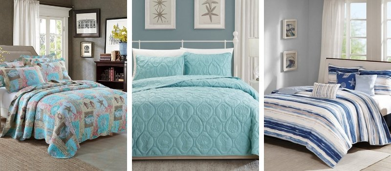 beach bedding and coastal bedding