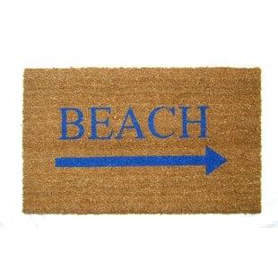 bridgeforth-beach-doormat Beach Doormats and Coastal Doormats