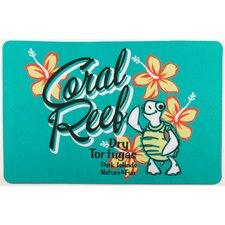 coastal-coral-reef-turtle-doormat Beach Doormats and Coastal Doormats