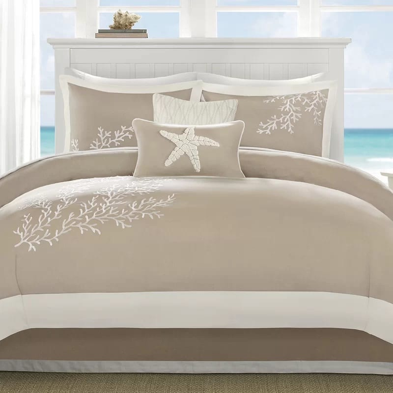 coastline-6-piece-comforter-set-by-harbor-house Coastal Bedding Sets and Beach Bedding Sets