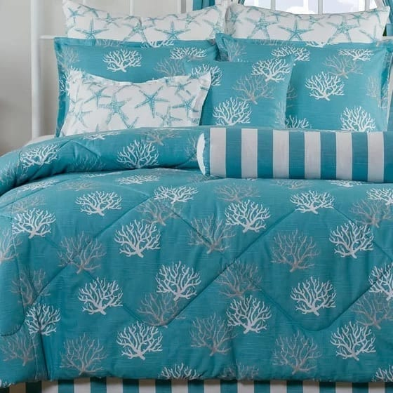 granada-4-piece-comforter-set-by-rosecliff-heights Coastal Bedding Sets and Beach Bedding Sets