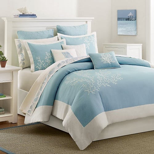 harbor-house-coastline-queen-bedding-set Coastal Bedding Sets and Beach Bedding Sets
