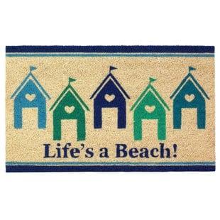 janis-beach-house-doormat Beach Doormats and Coastal Doormats
