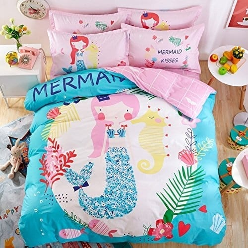 mermaid-bedding Coastal Bedding Sets & Beach Bedding Sets