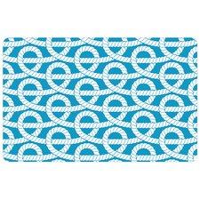 nautical-rope-knots-doormat Beach Doormats and Coastal Doormats