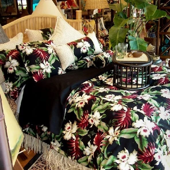orchids-hawaiian-bedding-collection-by-hanalei-home Coastal Bedding Sets and Beach Bedding Sets