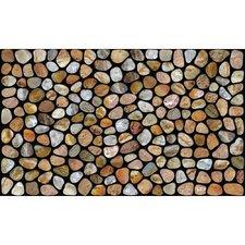 pebble-stones-beach-doormat Beach Doormats and Coastal Doormats