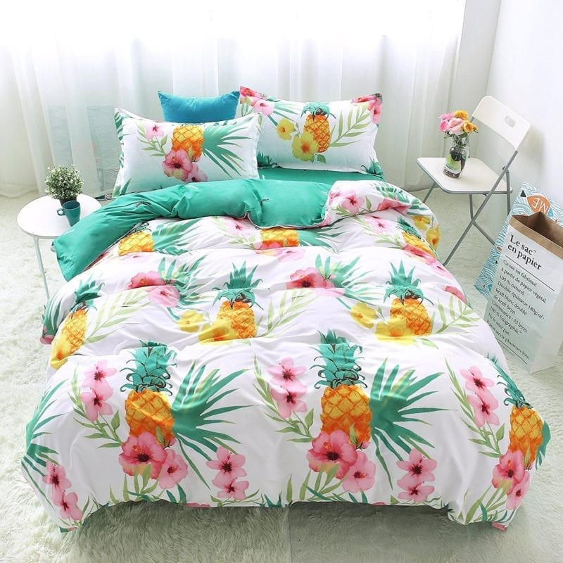 pineapple-bedding-800x800 Coastal Bedding Sets & Beach Bedding Sets